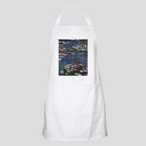 Claude Monet Water Lilies Apron