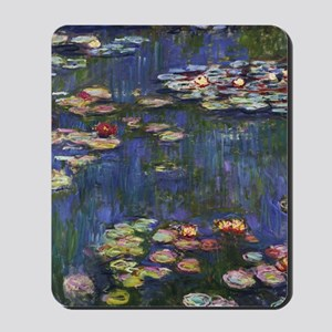 Claude Monet Water Lilies Mousepad