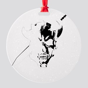 Monster Hunting Round Ornament