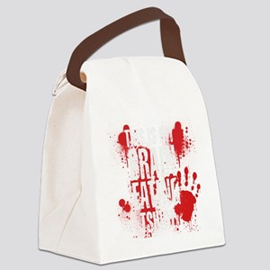 This is my Brain Eating Shirt Canvas Lunch Bag