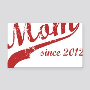 mom1 Rectangle Car Magnet