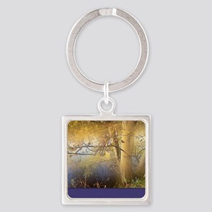 Enchanted nature 2 Square Keychain