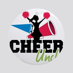 Cheer Uncle Round Ornament