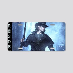 Cold Days Aluminum License Plate