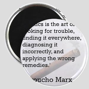 Groucho Marx Magnet