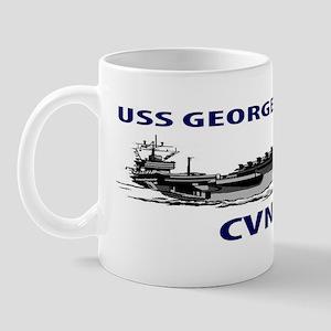 USS GEORGE H.W.  BUSH CVN-77 Mug