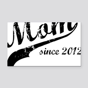 mom Rectangle Car Magnet