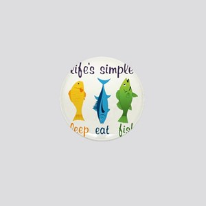 Lifes Simple Mini Button