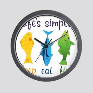 Lifes Simple Wall Clock