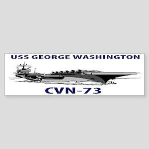 USS GEORGE WASHINGTON CVN-73 Sticker (Bumper)