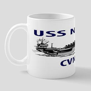 USS NIMITZ CVN-68 Mug