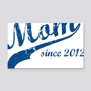 mom3 Rectangle Car Magnet