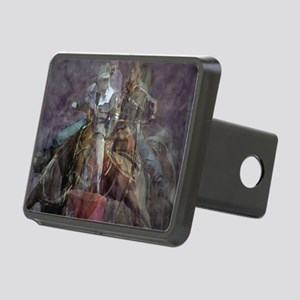 Barrel Racing Competition Rectangular Hitch Cover