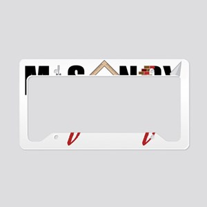 Masonry For Life License Plate Holder