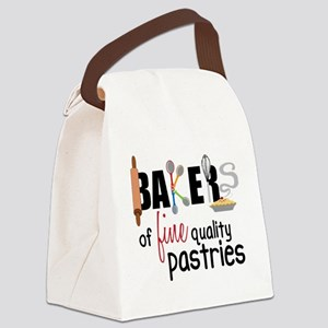 Fine Quality Pastries Canvas Lunch Bag