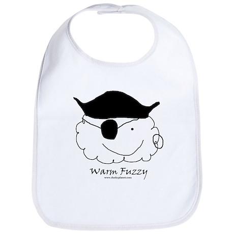 Pirate Warm Fuzzy Bib