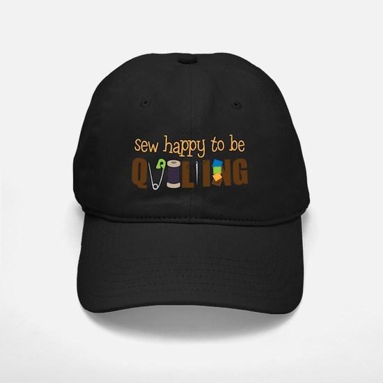 Sew Happy Baseball Hat