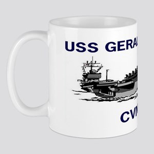 USS GERALD R. FORD CVN-78 Mug
