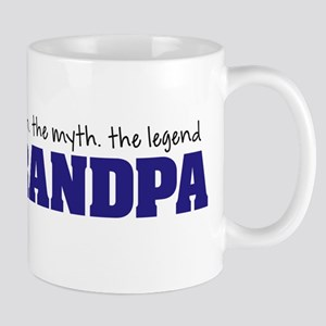 Grandpa Man Myth Legend Mugs