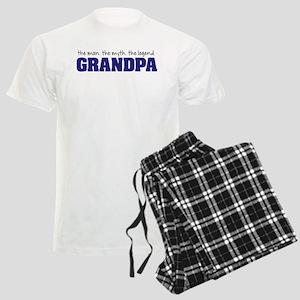 Grandpa Man Myth Legend Pajamas
