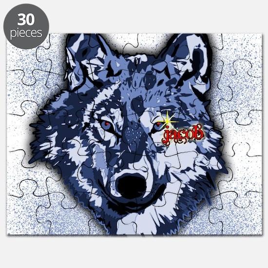 Twilight Indigo Jacob Wolf Puzzle