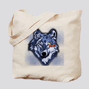 Twilight Indigo Jacob Wolf Tote Bag