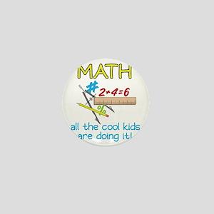 Math Mini Button