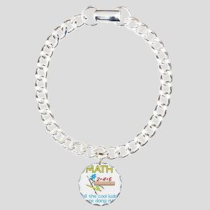 Math Charm Bracelet, One Charm