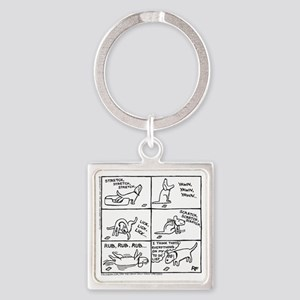Another Day... Square Keychain