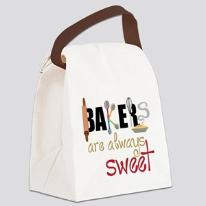 Bakers Are Always Sweet Canvas Lunch Bag