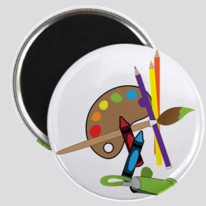 Artist Color Pallet Magnet