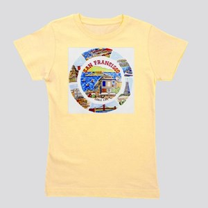 Vintage San Francisco Souvenir Graphics Girl's Tee