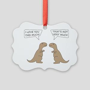 T-Rex Feelings, Hilarious Picture Ornament