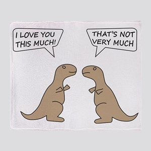 T-Rex Feelings, Hilarious Throw Blanket