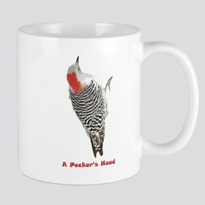 A Pecker's Head Mug
