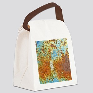 Rust Texture Canvas Lunch Bag