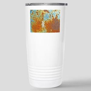 Rust Texture Stainless Steel Travel Mug