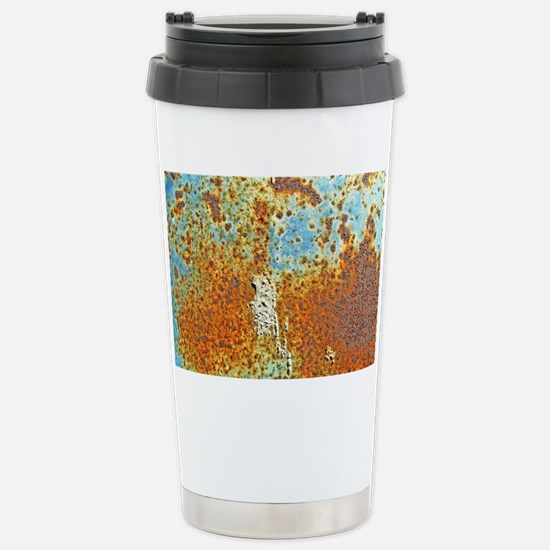 Rust Texture Stainless Steel Travel Mug