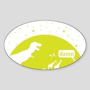 Noahs Ark Humor Sticker (Oval)