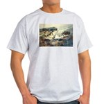 Trellis Bridge by Elsie Batze Light T-Shirt