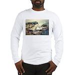 Trellis Bridge by Elsie Batze Long Sleeve T-Shirt