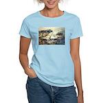 Trellis Bridge by Elsie Batze Women's Light T-Shir
