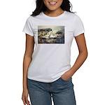 Trellis Bridge by Elsie Batze Women's T-Shirt