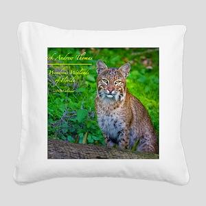 Calendar Cover Square Canvas Pillow