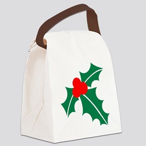 Holly Canvas Lunch Bag