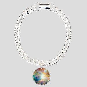 Space Galaxy Charm Bracelet, One Charm