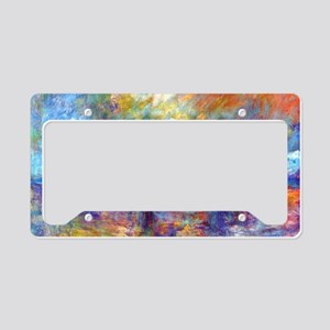 Monet Charing Cross Bridge License Plate Holder