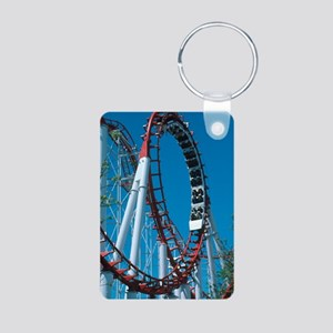 Loop section of a rollerco Aluminum Photo Keychain