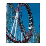 Amusement park Fleece Blankets
