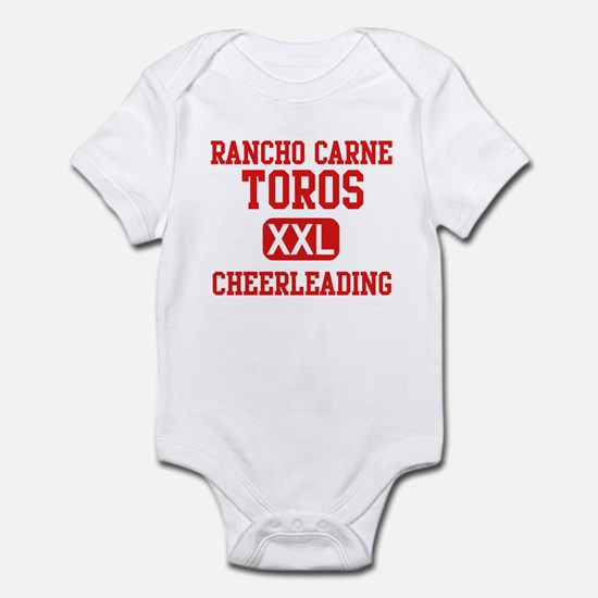Rancho Carne Cheerleading Infant Bodysuit